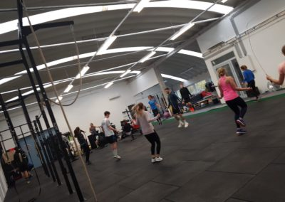 Workout bei CrossFit Untersberg in Salzburg