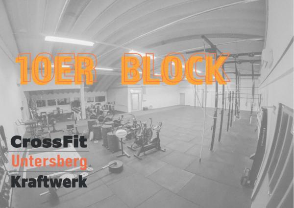 10er Block CrossFit Untersberg
