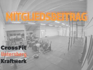 Corona-Mitgliedsbeitrag CrossFit Untersberg
