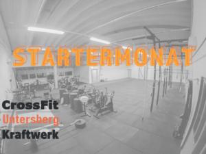 Startermonat CrossFit Untersberg